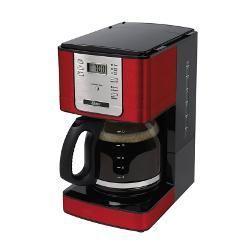 foto: Cafeteira Oster Programável Vermelha 127v 1,8l Com Filtro Permanente