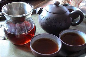 Ripened Puerh Tea