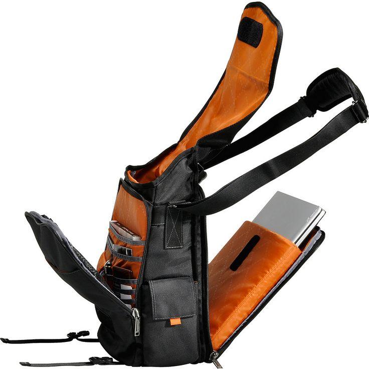 "Everki Urbanite 14.1"" Laptop Vertical Messenger Bag - eBags.com"