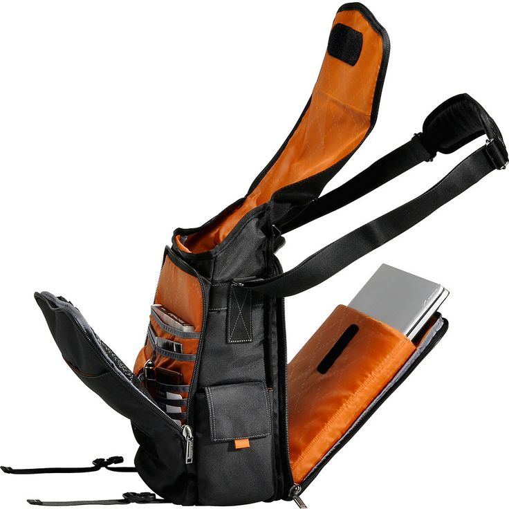 "Everki Urbanite 14.1"" Laptop Vertical Messenger Bag - eBags.com"
