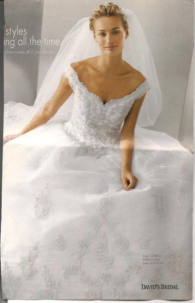 Davids Bridal Santa Monica CT2881A Wedding Dress