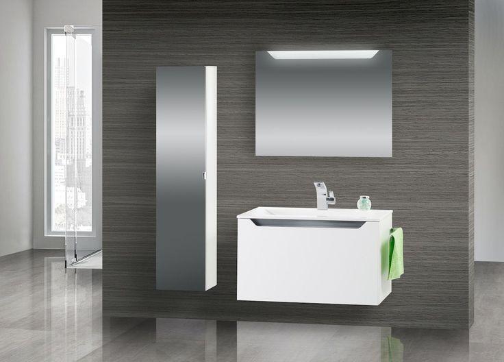 Die besten 25+ Waschtisch 80 cm Ideen auf Pinterest Fliesen - badezimmerm bel set holz