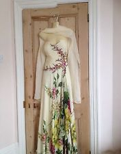 Size 18  Occasion Dress By Elegance Uk In Pale Lemonwith Embellishment