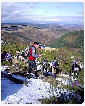 Viaje escolar de 1 a 5 días de Aventura y Naturaleza en Sierra de la Demanda, Pradoluengo-Burgos