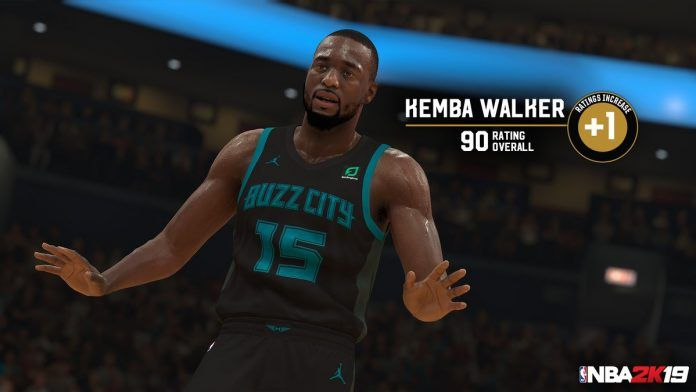 NBA 2K19 Ratings & Roster Update: Kemba Walker Improves to