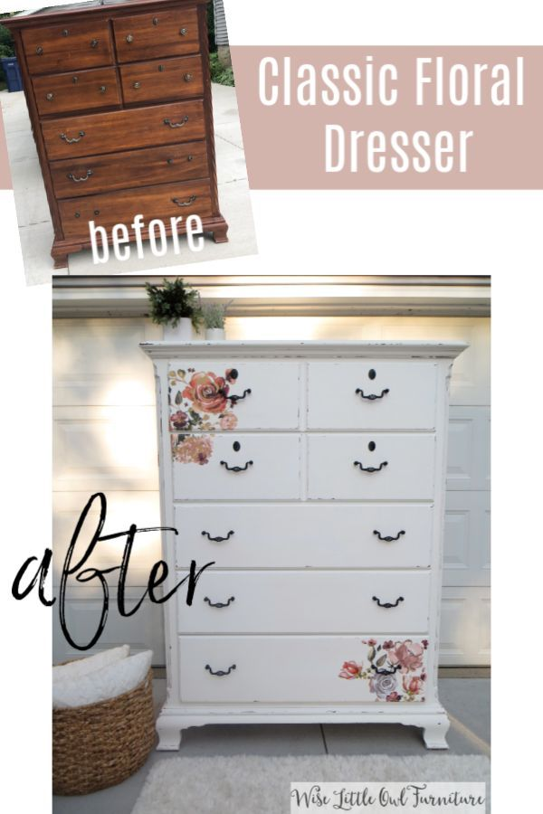 Classic And Beautiful White Floral Dresser Painted Bedroom Furniture White Painted Furniture