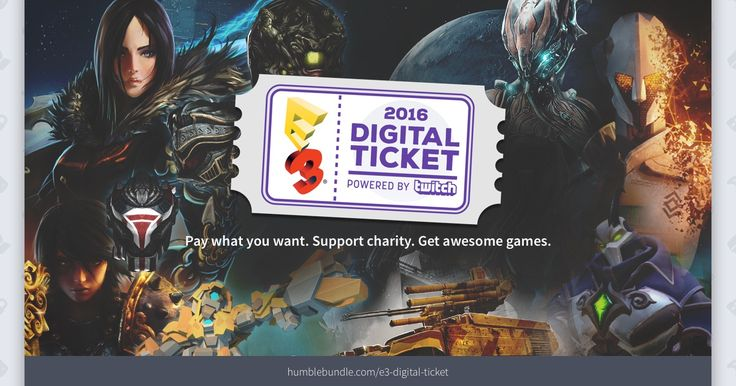 Pay what you want for digital content and support charity!