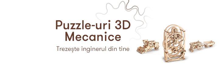 Puzzle-uri 3D Mecanice = Cele mai interesante si captivante jucarii pentru oameni mari (si nu numai) http://www.ideaplaza.ro/cadouri-speciale/puzzle-uri-3d/