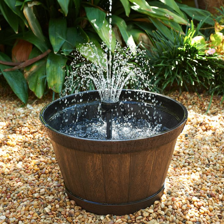 38 Best Container Fountains And Ponds Images On Pinterest Container Ponds And Fountain