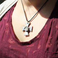Croix de malte en acier