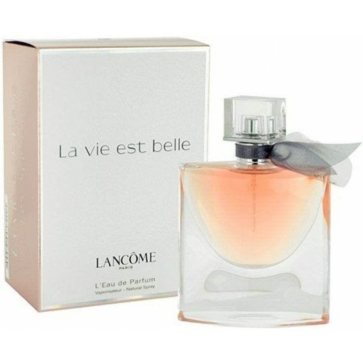 """La Vie Est Belle"" by Lancome is a fragrance for modern women.  Its Fresh, savory, feminine, intoxicating and long-lasting perfume makes it perfect for all occasions.  A must have!  #Lancome #Fragrance #ModernWoman"