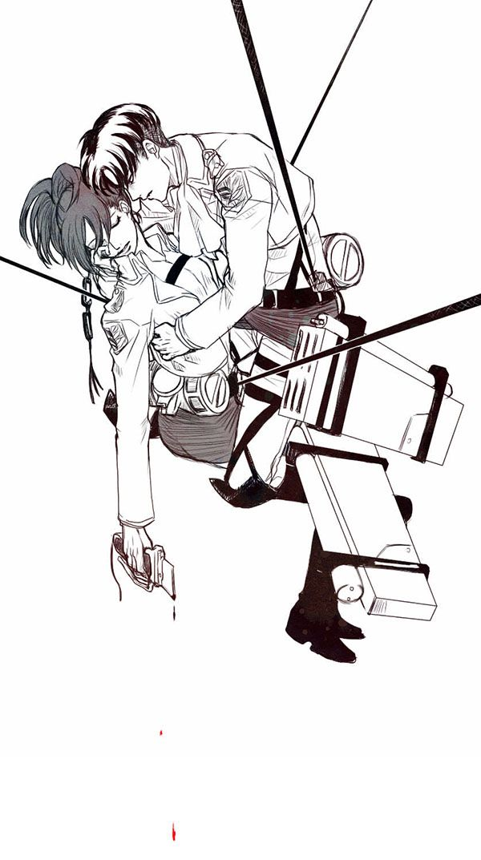 LeviHan   Levi / Rivaille Ackerman x Hanji / Hange Zoe   Attack on Titan / Shingeki no kyojin / AoT / snk   OTP