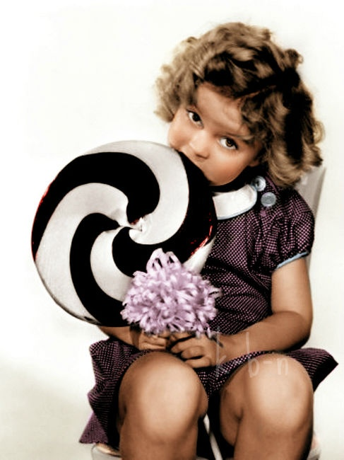 Shirley Temple - have all her movies! Can't wait to watch them w/ my grand daughter!