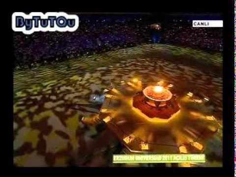 anadolu ateşi 2011 kış olimpiyatları açılışı cirit volkan bari oyunu ve hani yaylam - YouTube