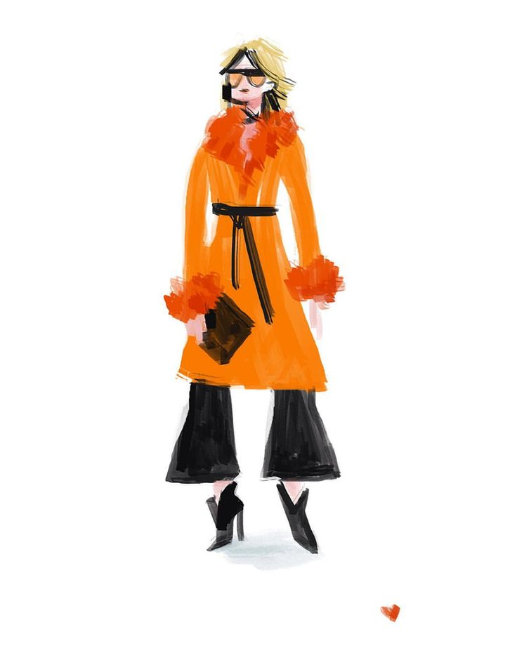 New illustration of #lfw from photo @vickiphoto #model #look #style #fashionweek #fashionillustration #fashion #cute #outfit #style #illustration #fashion_illustration #art #girl