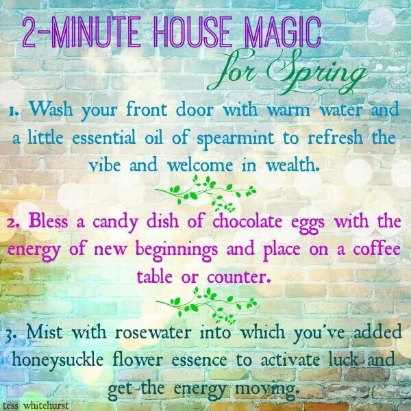 A little Ostara magic that your children can do to bless and refresh your home this spring.