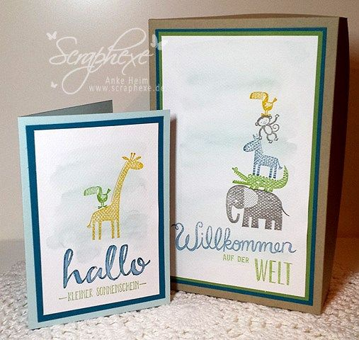 124 best Zoo Babies - Stampin up images on Pinterest | Kids cards ...