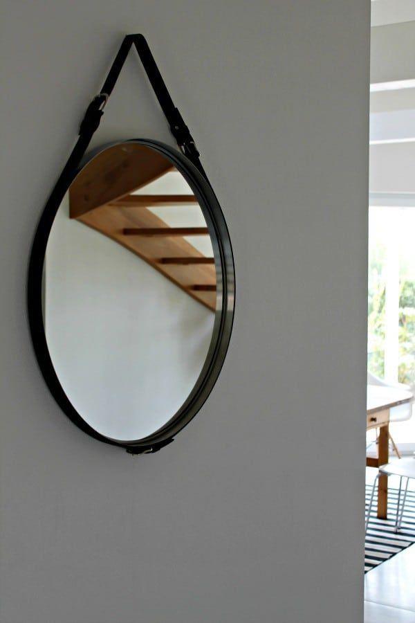 Afbeelding 1 Van Het Product Ronde Houten Spiegel Spiegel Holz