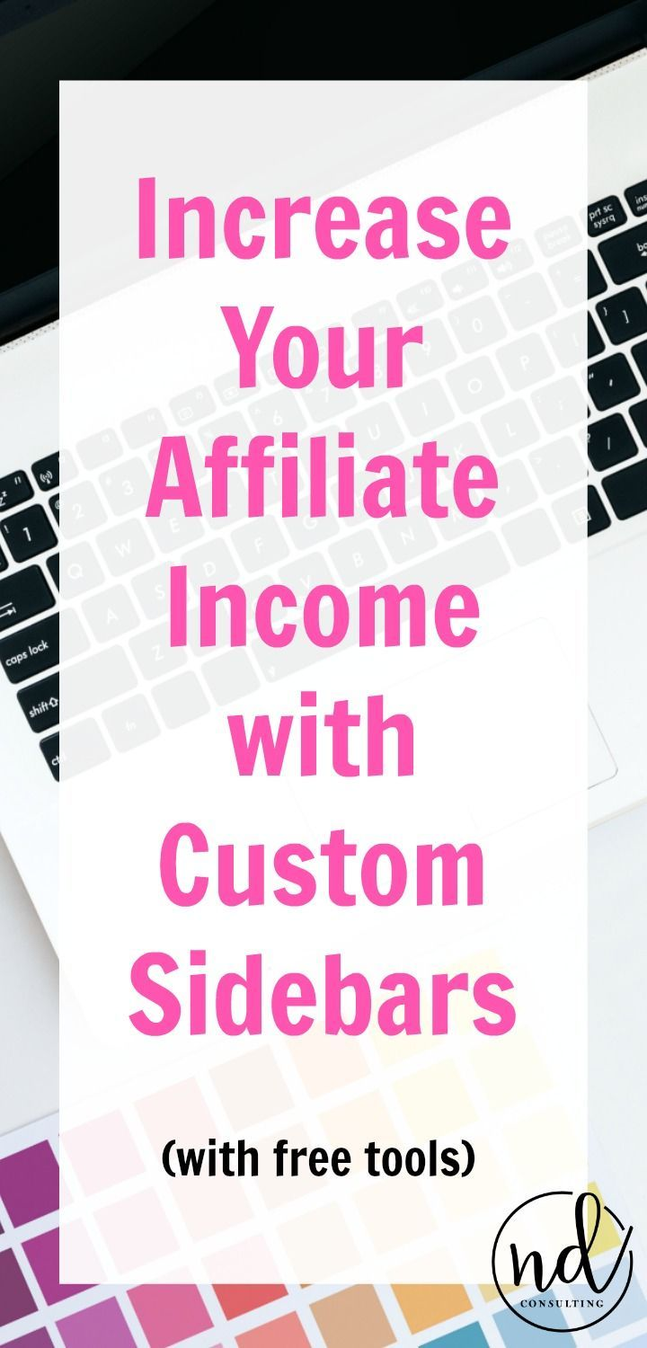 Increase Affiliate Income with Custom Sidebars and this free training #affiliatemarketing #blogging #makemoneyblogging #bloggingtips #affiliatelinking http://ndcfullcircle.com/affiliate-income-custom-sidebars/?utm_campaign=coschedule&utm_source=pinterest&utm_medium=ND Consulting - Blog to Business&utm_content=You Can Increase Affiliate Income With Custom Sidebars #affiliatemarketing #bloggingtips
