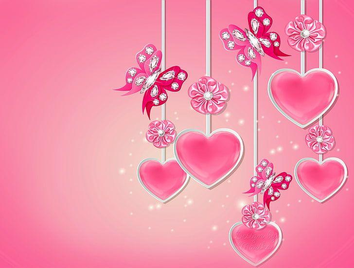 Love Pink Wallpaper In 2021 Love Pink Wallpaper Pink Wallpaper Wallpaper Colorful love love wallpaper for girls
