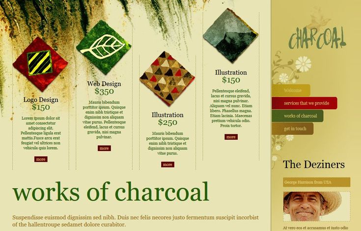 Works Of Charcoal is Theme For Seo very best, it design for shop Art. This is Template Free Download.