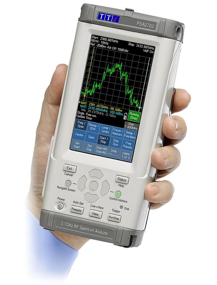 Aim-TTi PSA2702 (PSA Series 2) Spectrum analyzer
