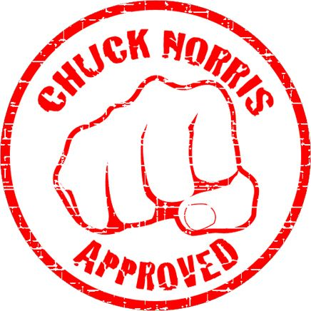 Chuck Norris is...a fan of this board.