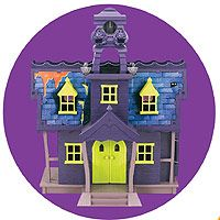 scooby doo mystery mansion playset using the kids toy for decoration - Scooby Doo Halloween Decorations