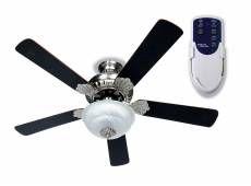 Ventilador De Techo 5 Aspas 1 Luz Con Control