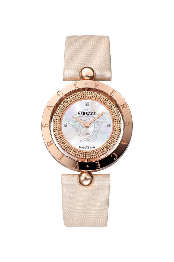 Versace Ladies' Off-White Watch