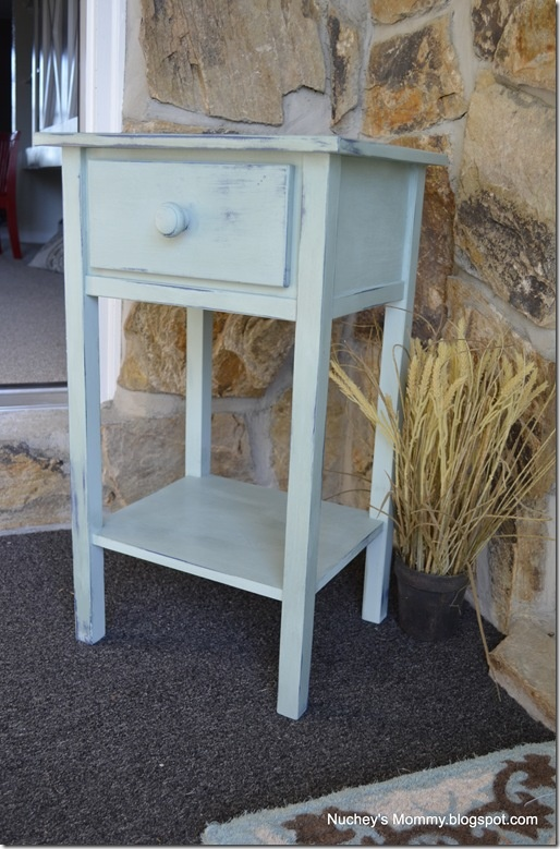 Table From Target Painted With Annie Sloan Chalk Paint