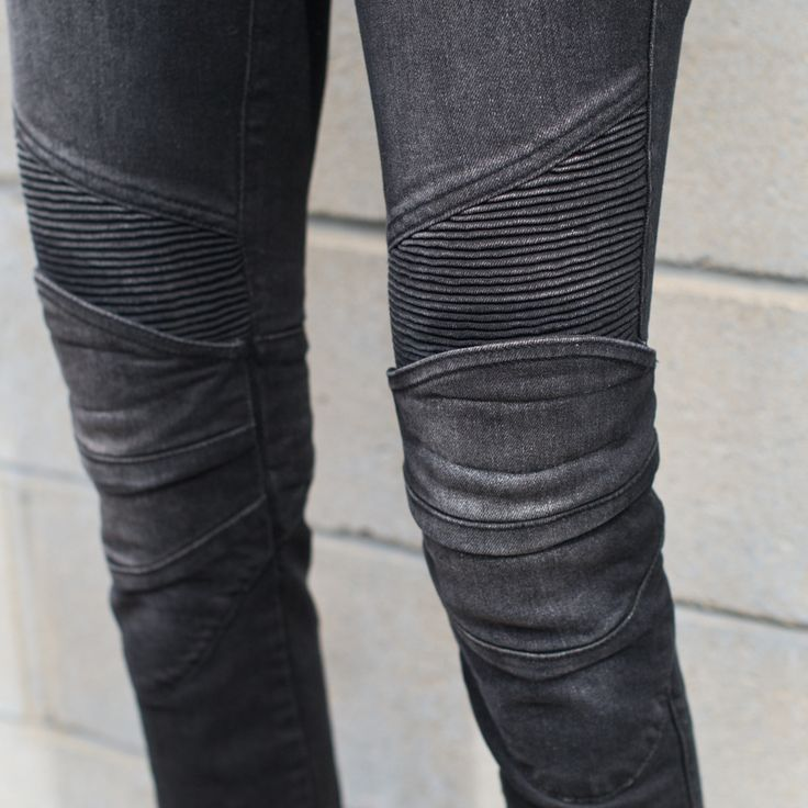 Armored motorcycle pants: Ugly Bros Womens Twiggy Pant, Washed Black