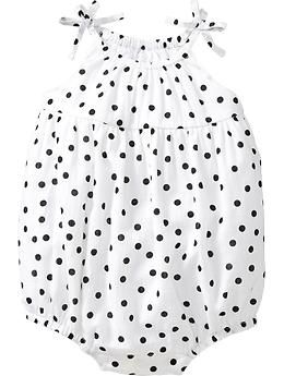 a03a3a67c Polka-Dot Bubble Rompers for Baby | Old Navy | Kids | Baby girl romper, Baby  girl fashion, Toddler Fashion