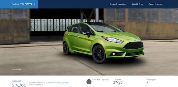 2019 Ford Fiesta Your Last Chance To Buy This Compact Sedan Ford