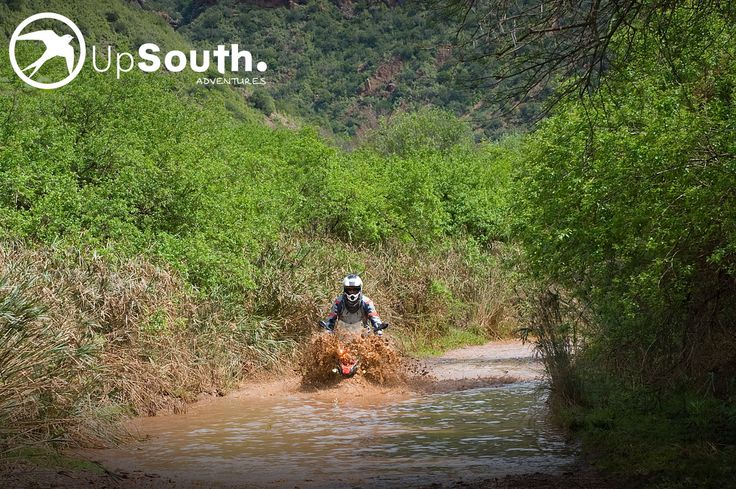 Baviaanskloof #watercrossing #motorcycletourssouthafrica #adventuretravel #bmwmotorrad