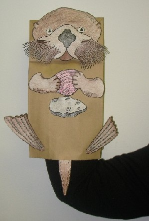 Otter Crafts For Preschoolers