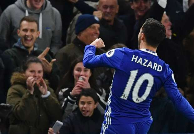 Meanwhile, in another #BigBlue of sorts, #Chelsea thrash #Everton & Eden hazard says it could have been more!