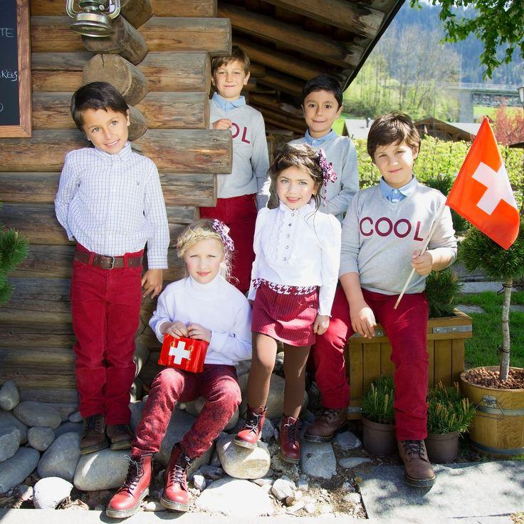 #Chocolat  Pantalones y faldas en color vino tinto combinados con colores básicos…un estilo muy #Trendy #epkmegusta