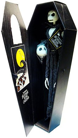 *JACK SKELLINGTON ~ The Nightmare Before Christmas, 1993... In The Coffin