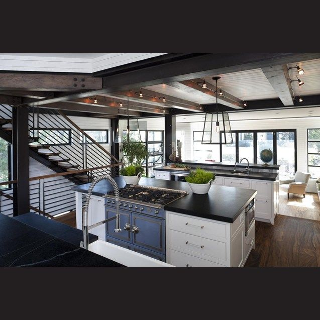 La Cornue Kitchen   The Design Favors Traditional Elements With A Modern Or  Unexpected Edge.