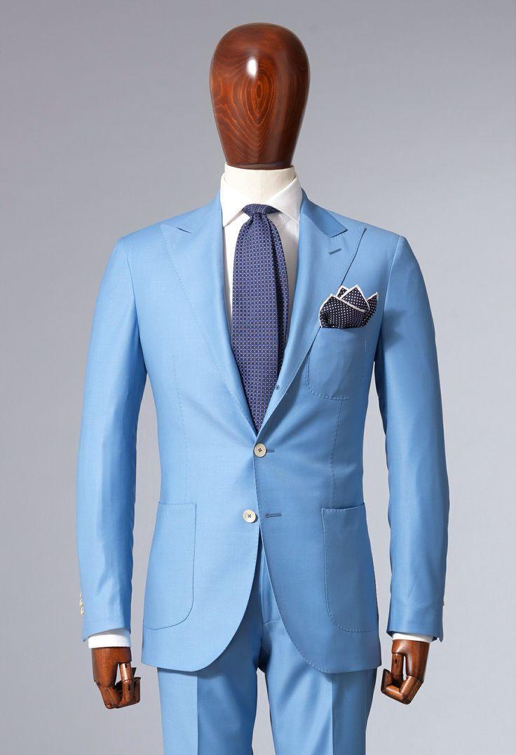 23 best light blue suit images on Pinterest | Men fashion, Man style ...