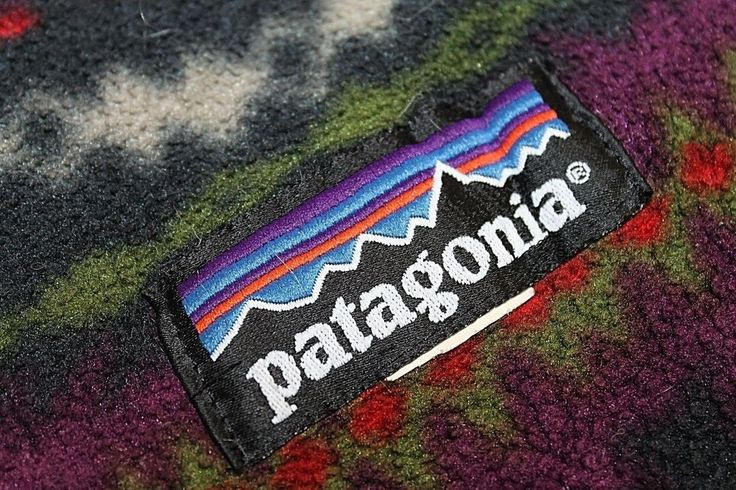 Vtg. Patagonia Fleece Blanket Geometric Southwestern Vibe 64 by 75 #Patagonia #ThrowBlanket