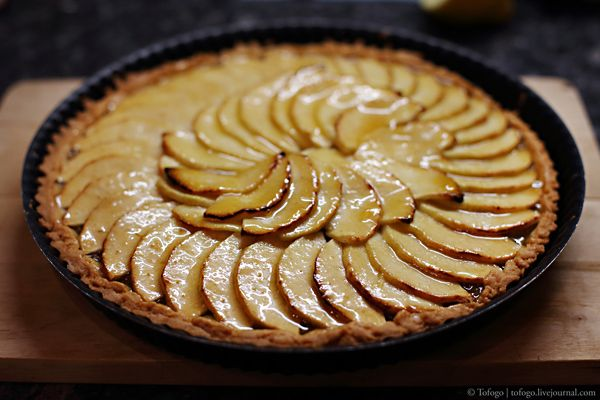 Яблочный пирог (Tarte Aux Pommes / Apple Tart)