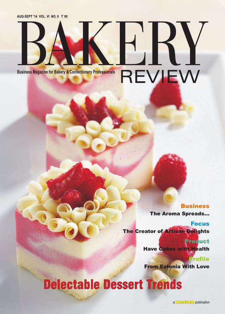 Bakery Review (Aug - Sept 2014)  Today not only the traditional Indian desserts but a number of international and innovative desserts  are also influencing the globalised palates of guests. The Cover Story of this issue deals with the sweet history of desserts and their present popularity in the Indian context. The mushrooming of retail coffee café outlets in the country can lead to the growth of the Indian bakery and confectionery industry. The impressive growth of coffee café culture in…