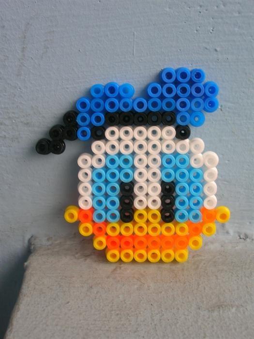 Donald Duck perler beads by Benedictus Nelson O. - Perler® | Gallery