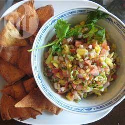 Salsa di avocado, mango e pomodoro @ allrecipes.it Antipasti di Natale