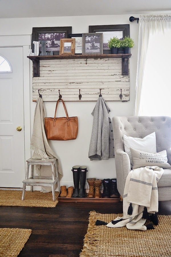 casa de fifia blog de decoração : solução para um pequeno hall de entrada