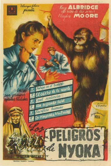 Resultado de imagen de los peligros de nyoka film