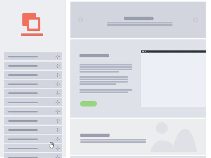 drag drop list 13 Incredible UI Animations in GIFs