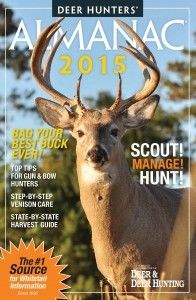 When you need to know hot deer hunting tips and the best day for deer hunting this season, look no further than the Deer & Deer Hunting 2015 Calendar.